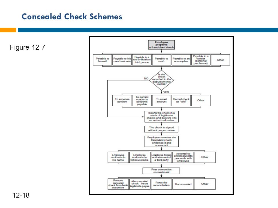 Concealed Check Schemes