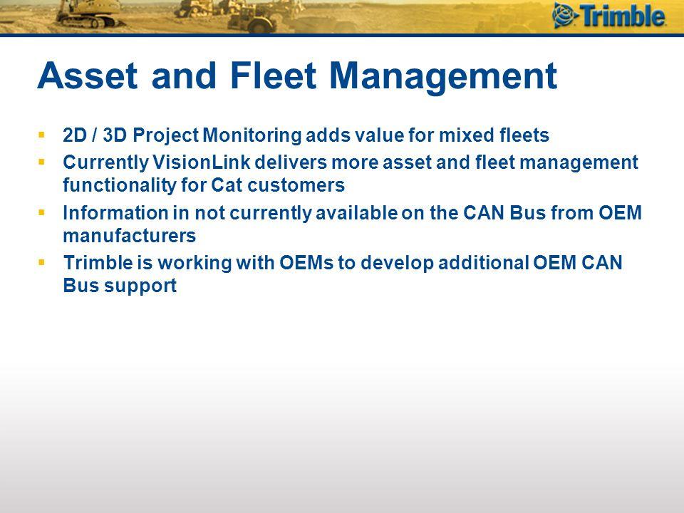 Asset and Fleet Management