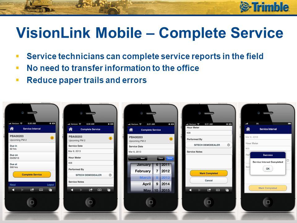 VisionLink Mobile – Complete Service