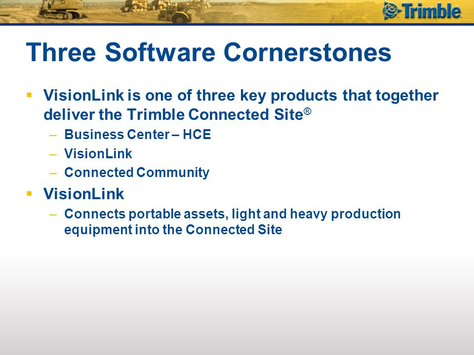 Three Software Cornerstones