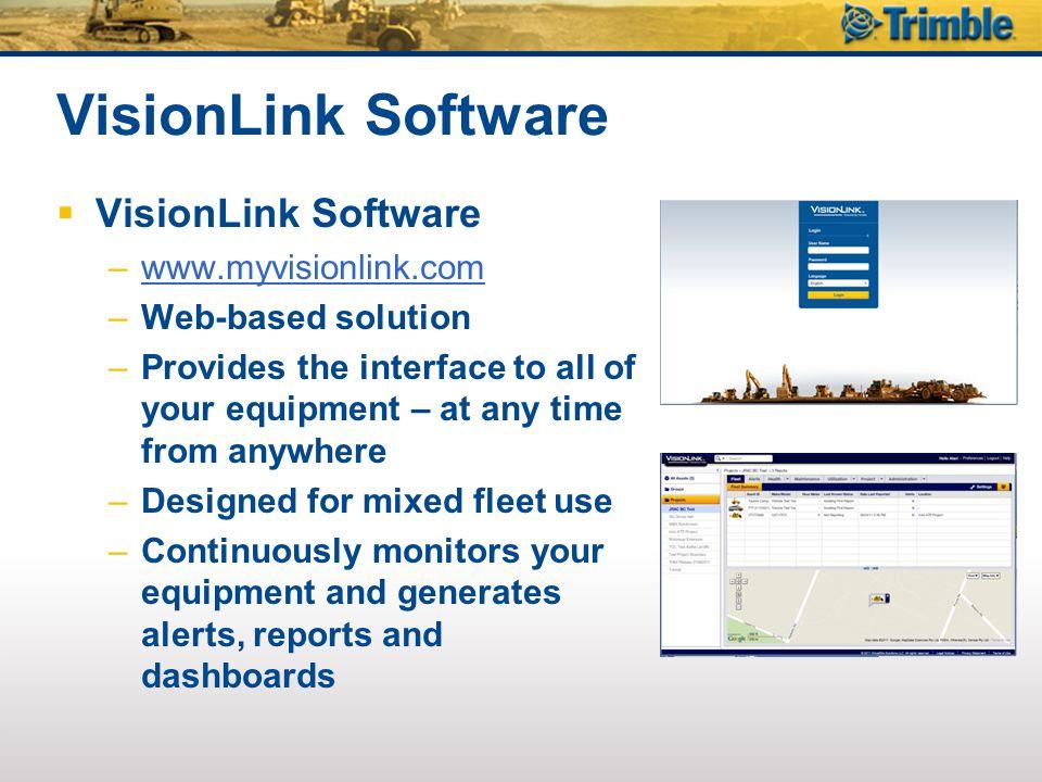 VisionLink Software VisionLink Software www.myvisionlink.com