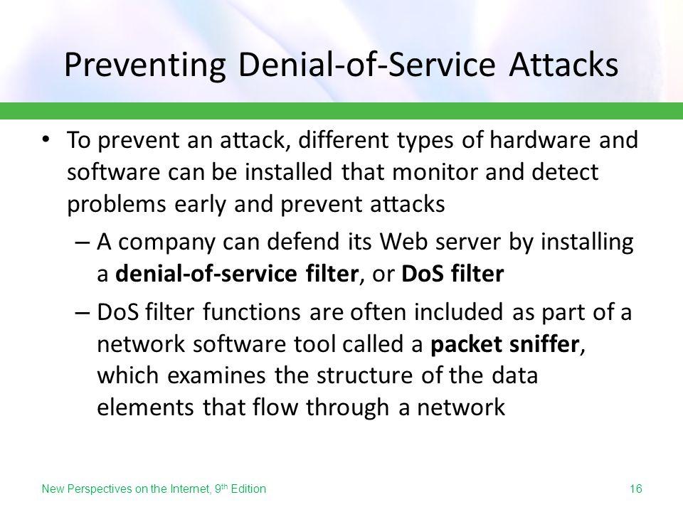 Preventing Denial-of-Service Attacks