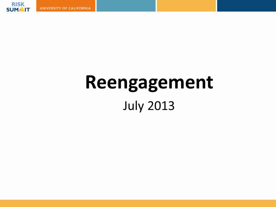 Reengagement July 2013