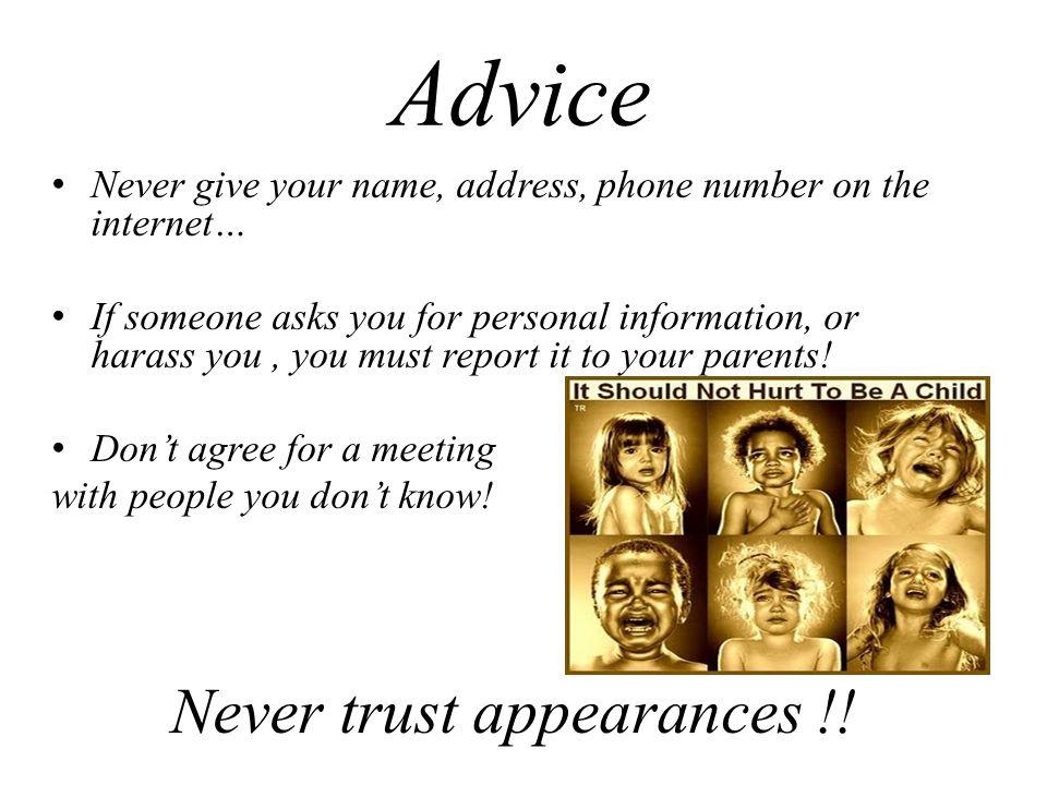 Never trust appearances !!