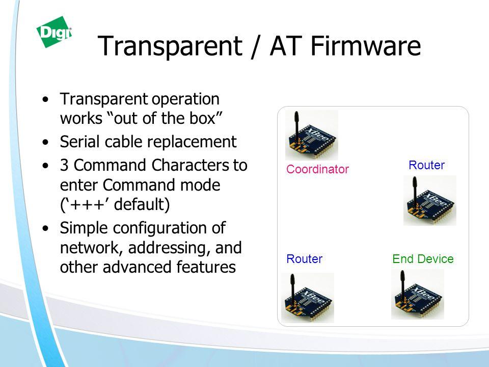 Transparent / AT Firmware