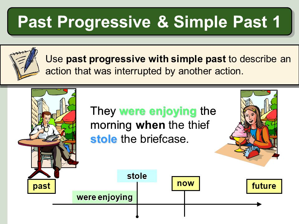 Past Progressive & Simple Past 1