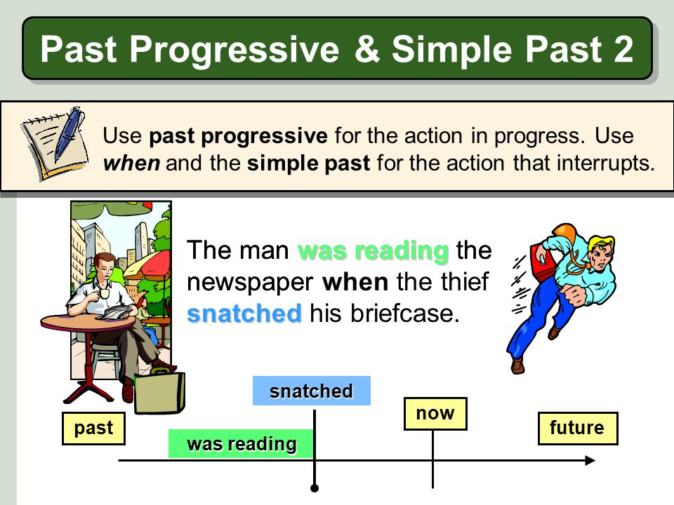 Past Progressive & Simple Past 2
