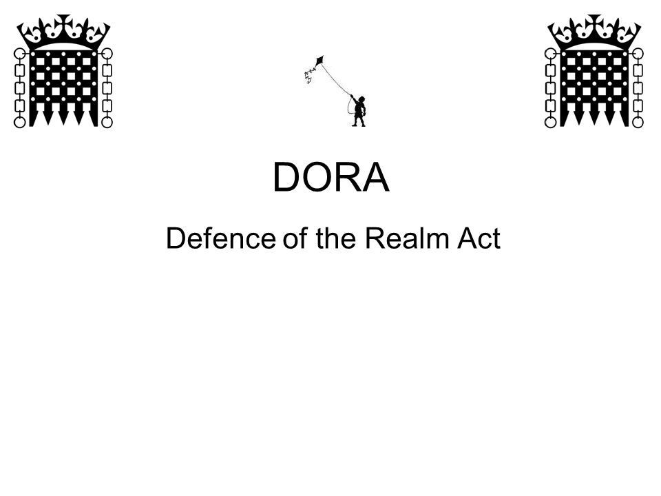 Defence of the Realm Act