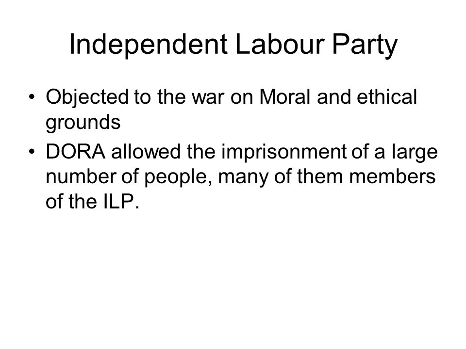 Independent Labour Party