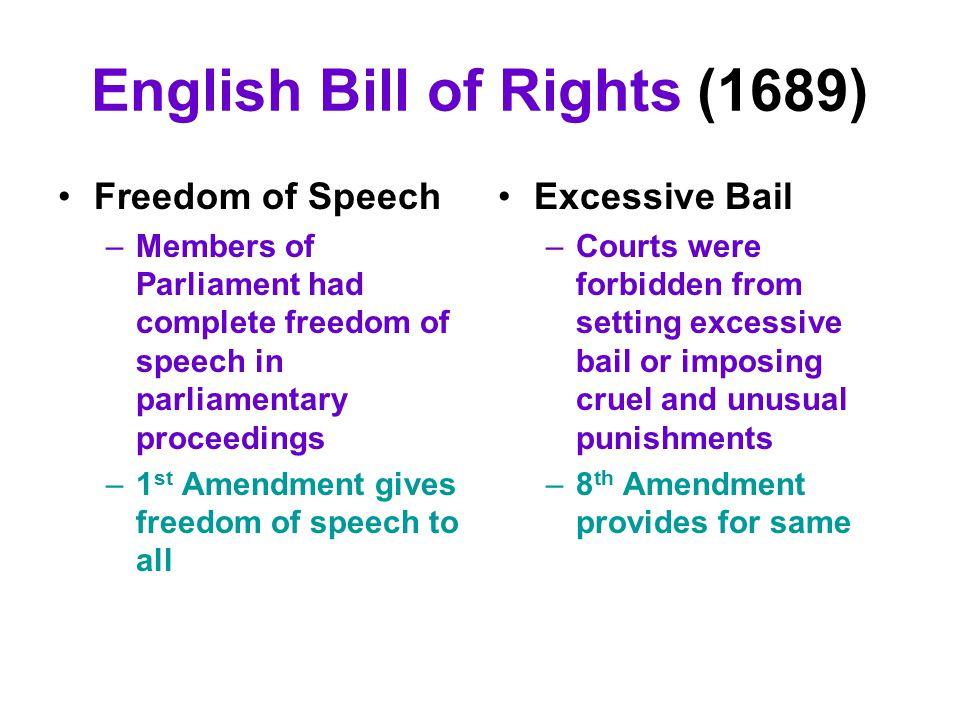 English Bill of Rights (1689)