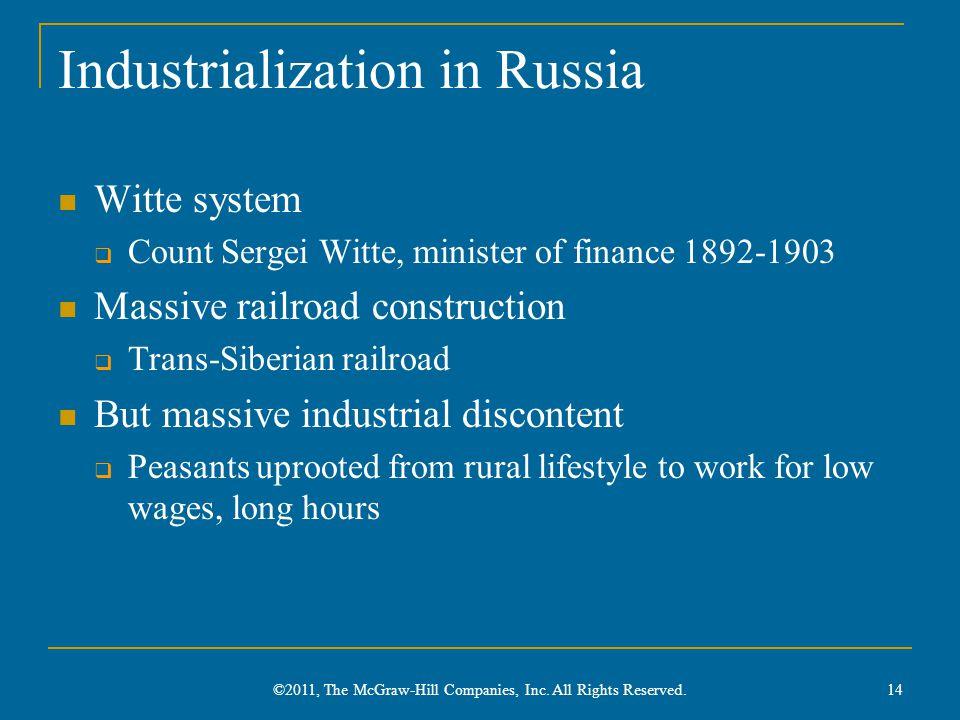 Industrialization in Russia