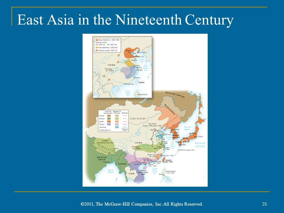 East Asia in the Nineteenth Century