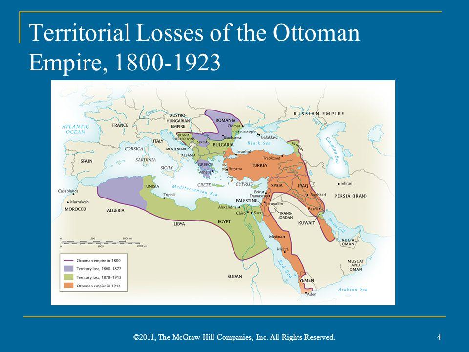 Territorial Losses of the Ottoman Empire, 1800-1923
