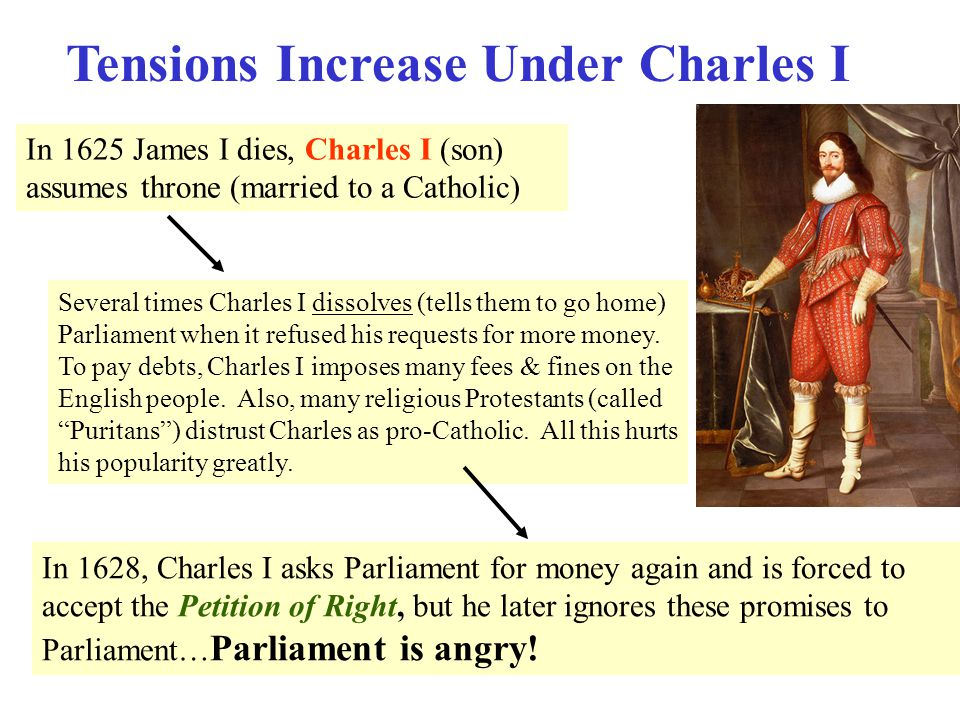 Tensions Increase Under Charles I