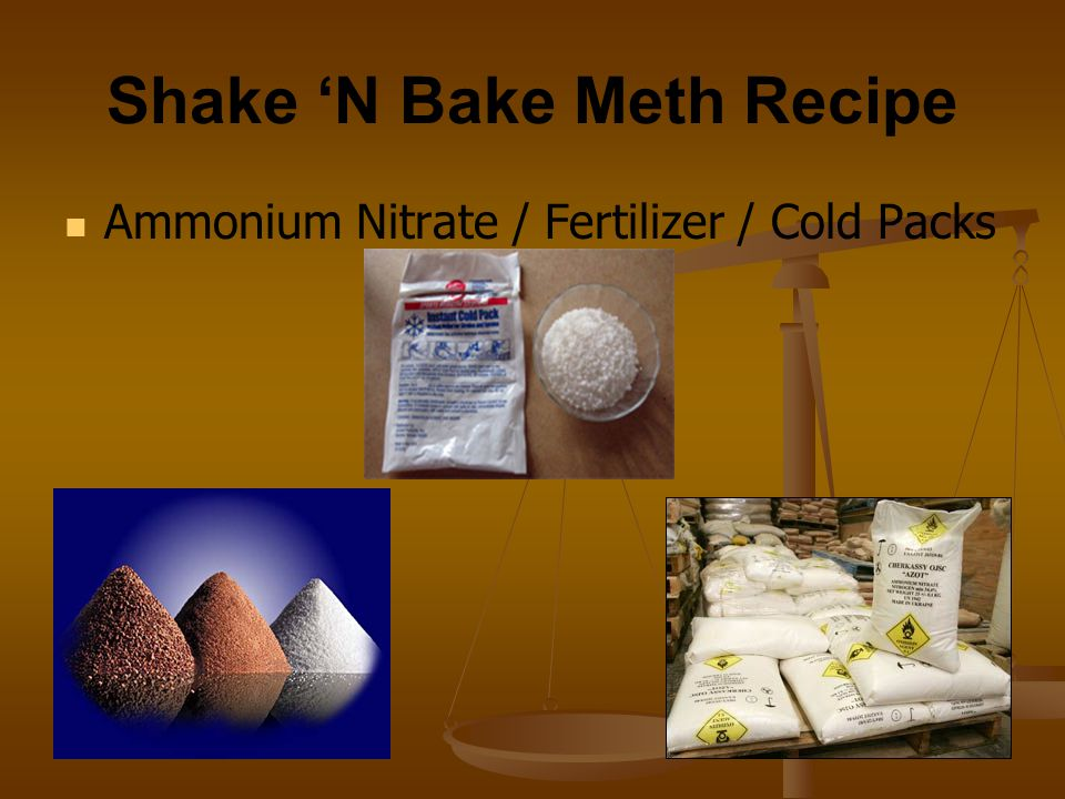 Shake 'N Bake Meth Recipe