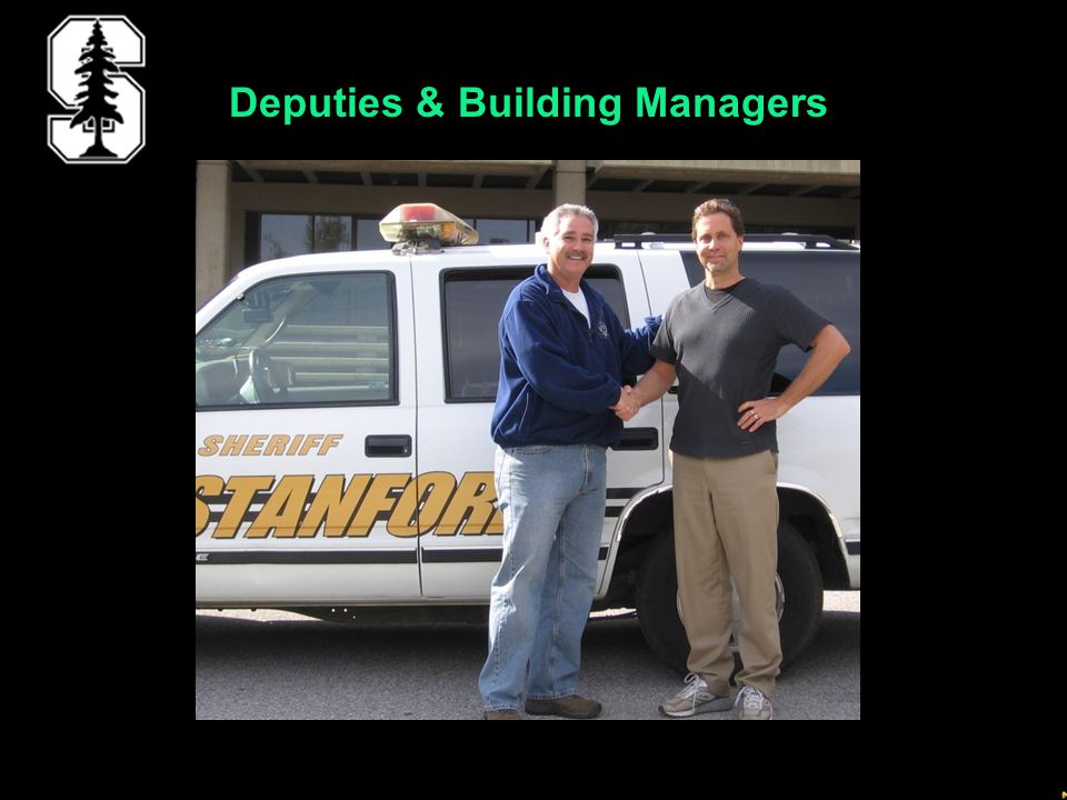Deputies & Building Managers
