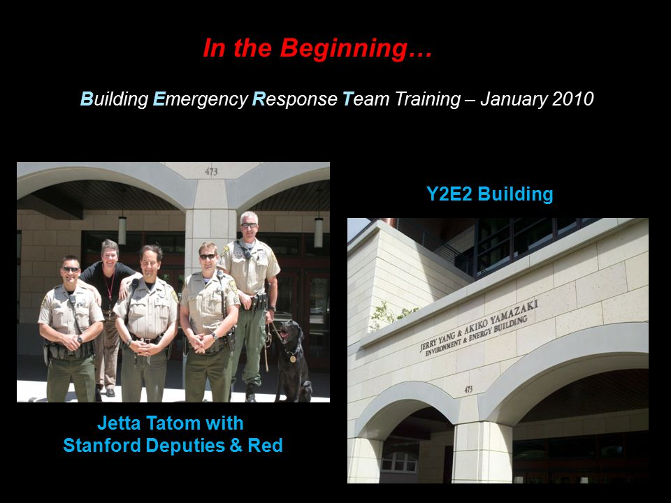 Stanford Deputies & Red