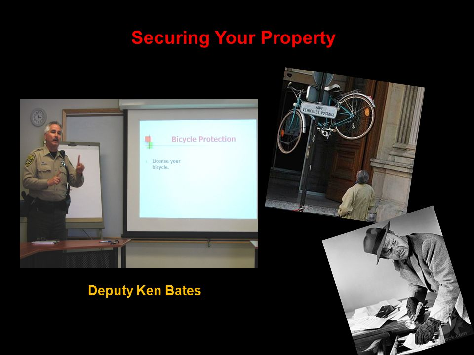 Securing Your Property