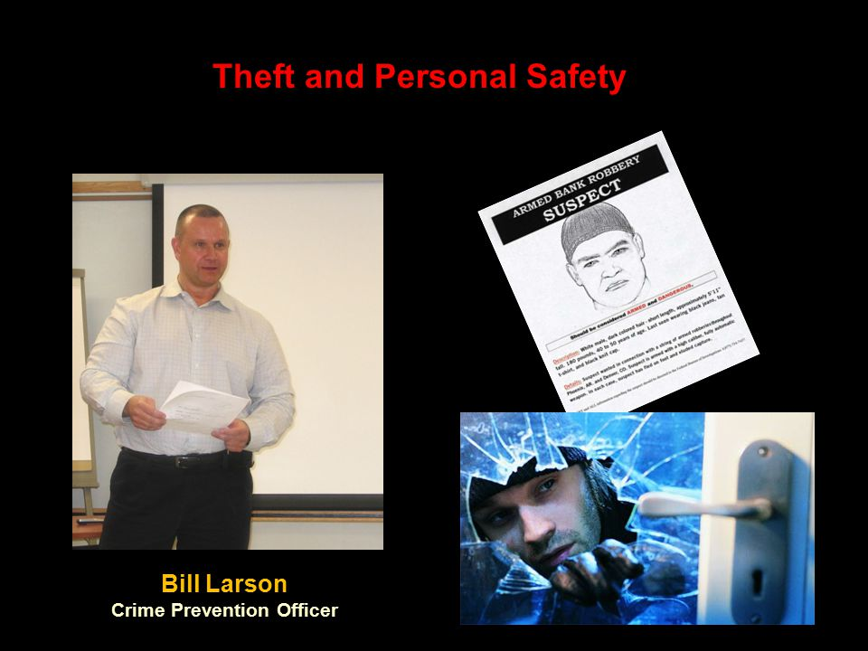 Theft and Personal Safety Crime Prevention Officer