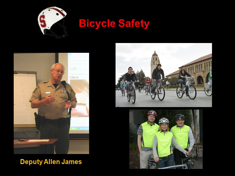 Bicycle Safety Deputy Allen James