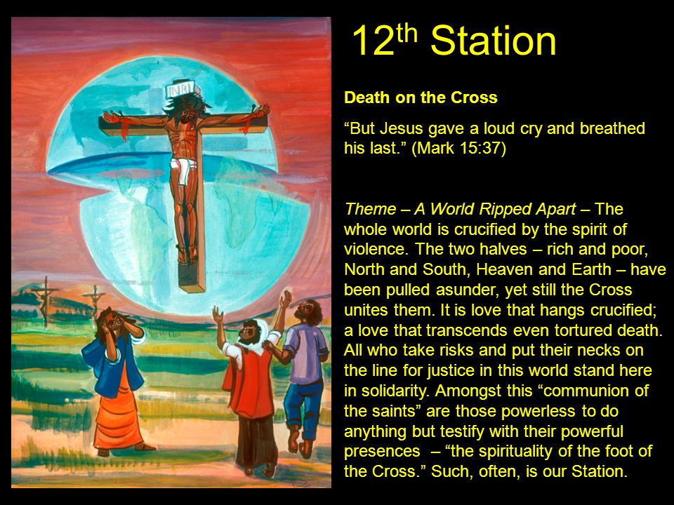 12th Station Death on the Cross