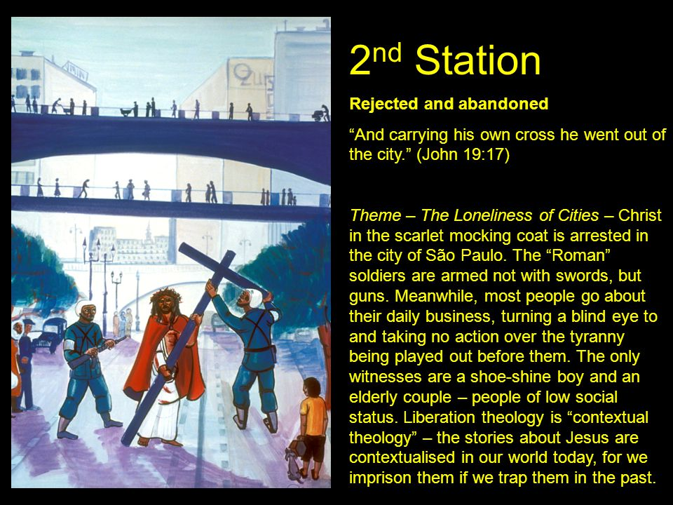 2nd Station Rejected and abandoned