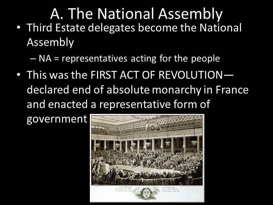 A. The National Assembly