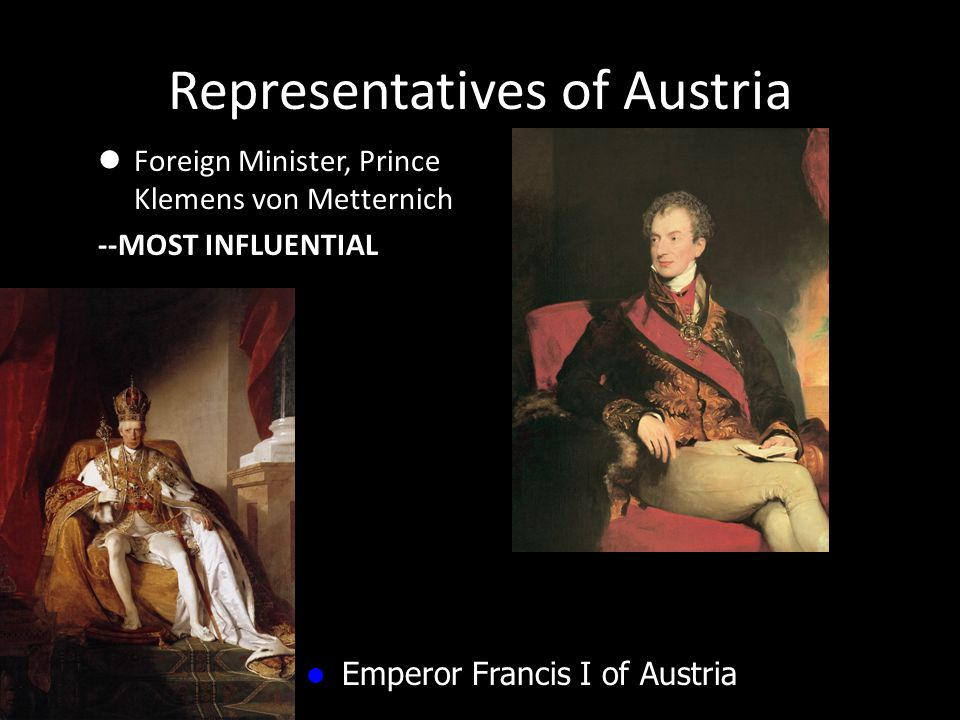 Representatives of Austria