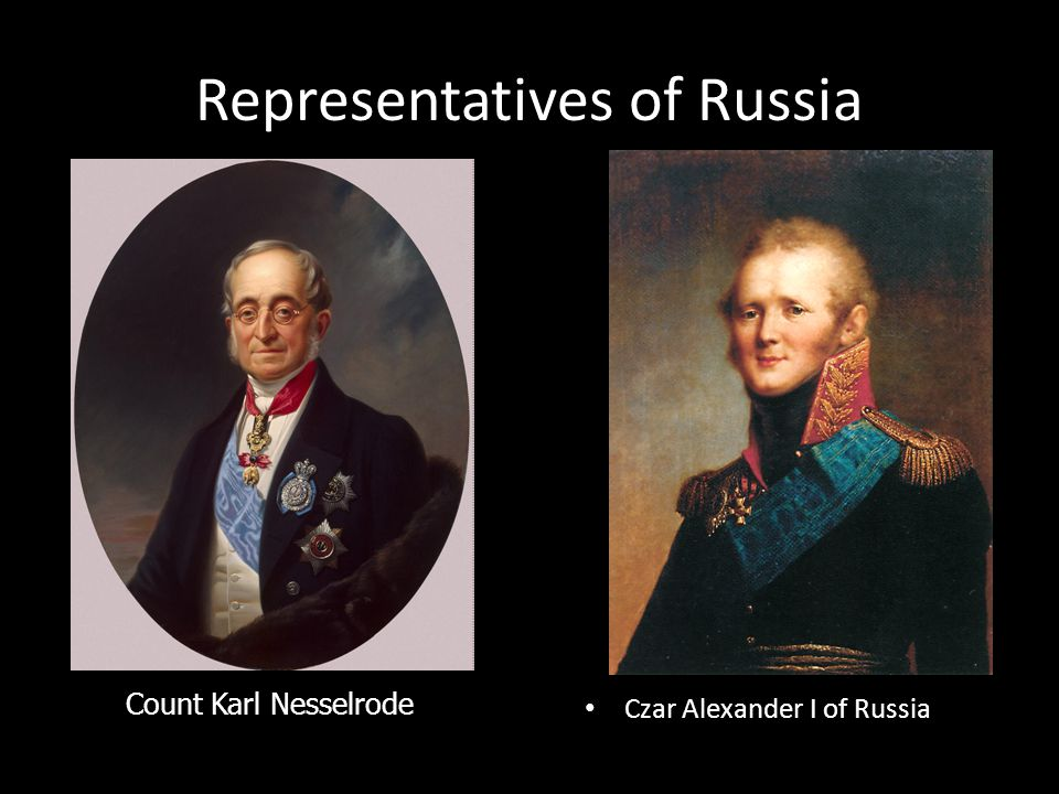 Representatives of Russia