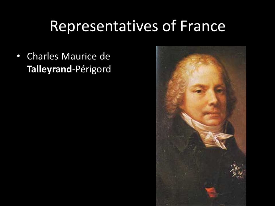 Representatives of France