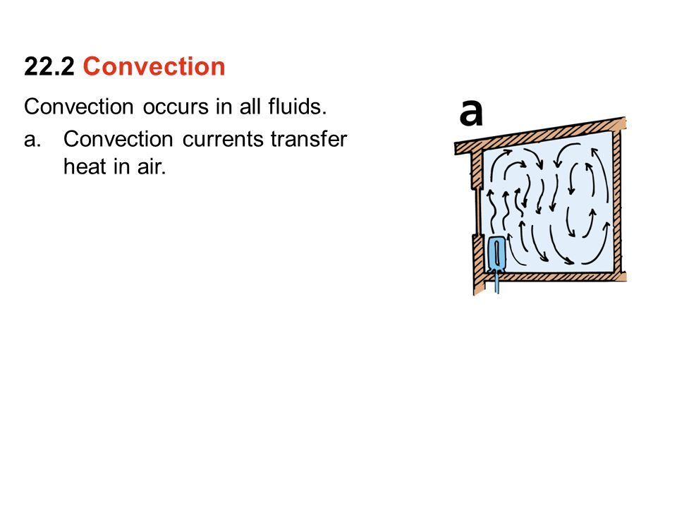 22.2 Convection Convection occurs in all fluids.