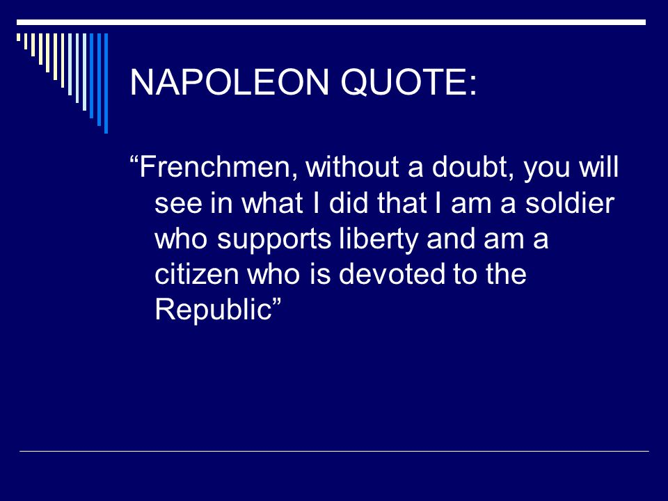 the greatest educational reform in france under the rule of napoleon bonaparte The situation escalated when napoleon bonaparte took control of france as first nationalism grows in europe: timeline, events & impact education (615.
