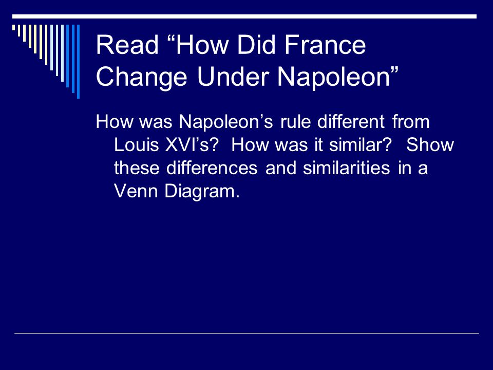 Read How Did France Change Under Napoleon