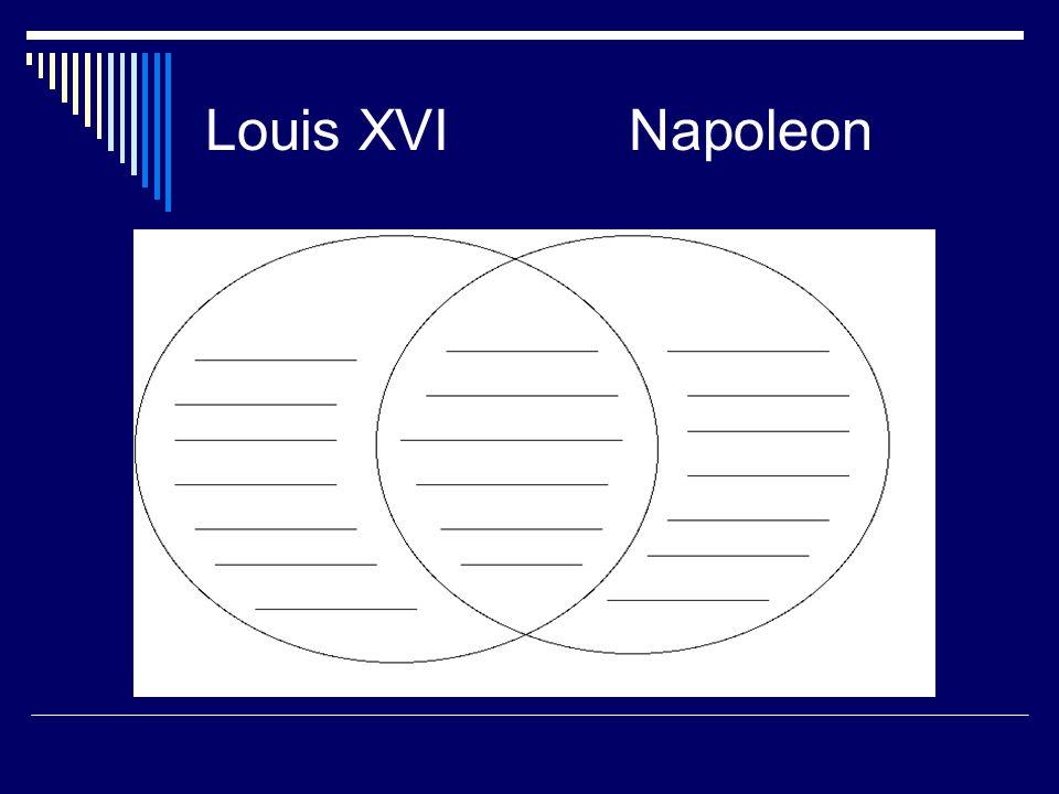 Louis XVI Napoleon