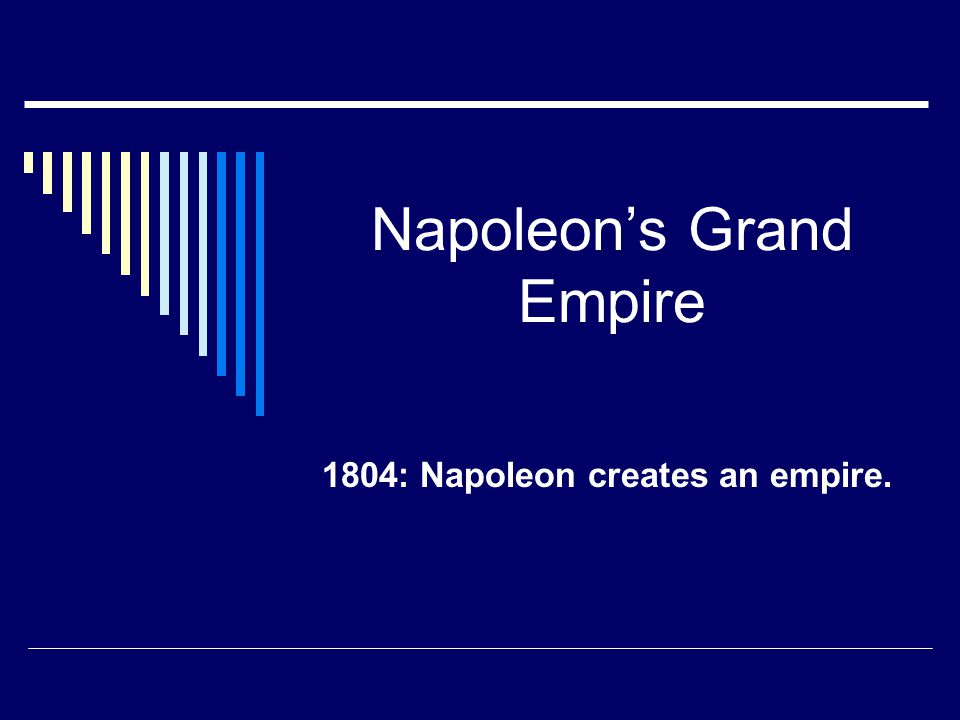 Napoleon's Grand Empire