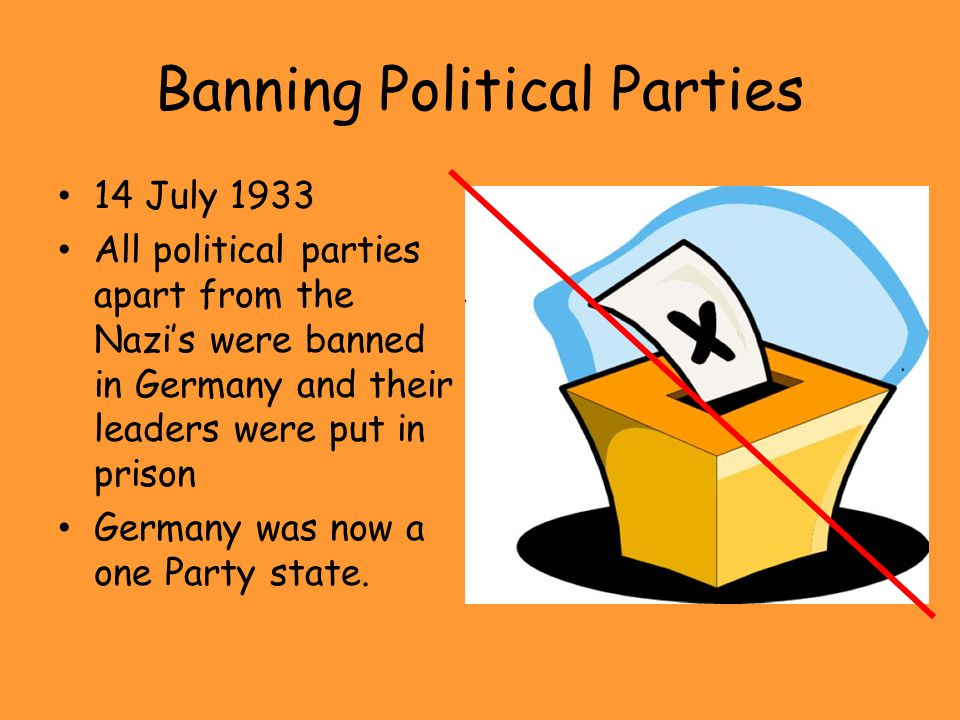 Banning Political Parties