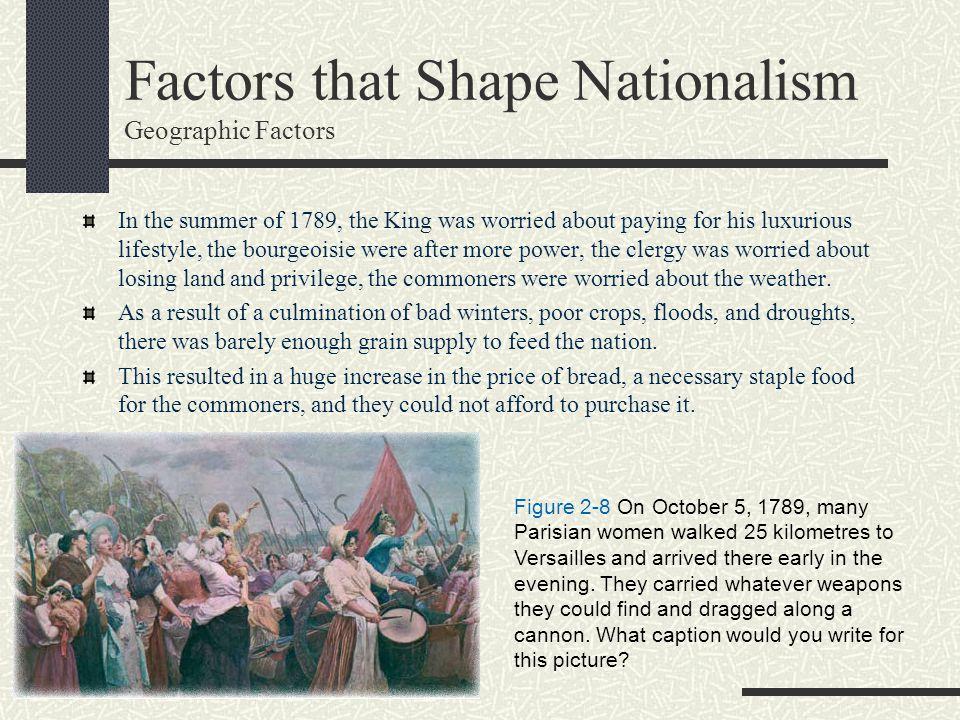 Factors that Shape Nationalism Geographic Factors