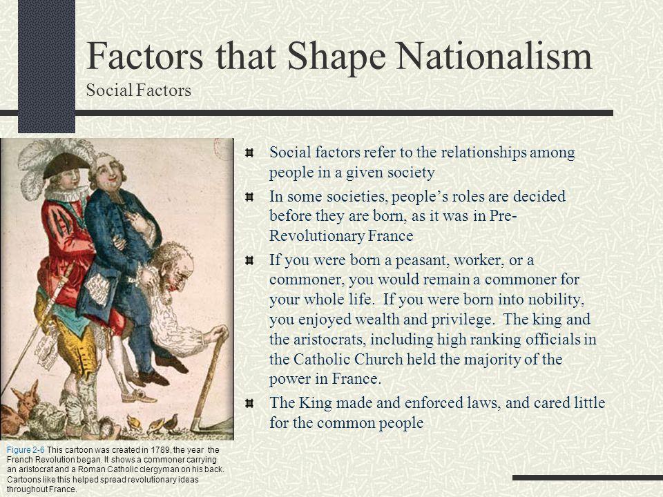 Factors that Shape Nationalism Social Factors
