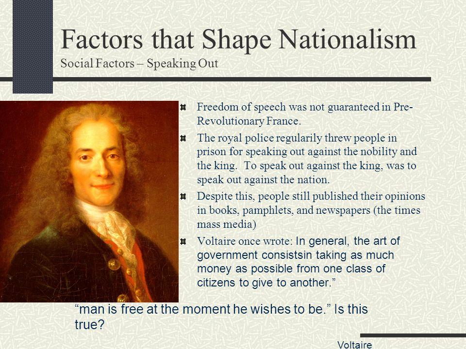 Factors that Shape Nationalism Social Factors – Speaking Out