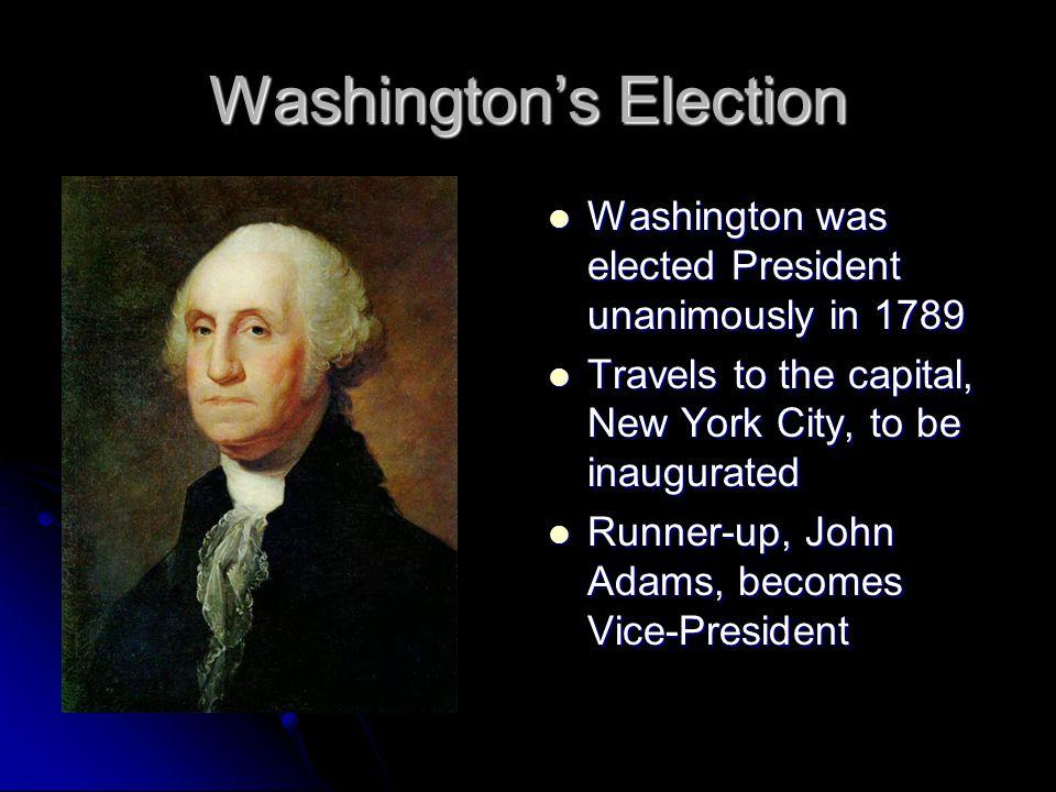 Washington's Election