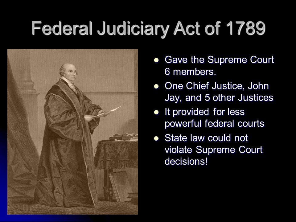 Federal Judiciary Act of 1789