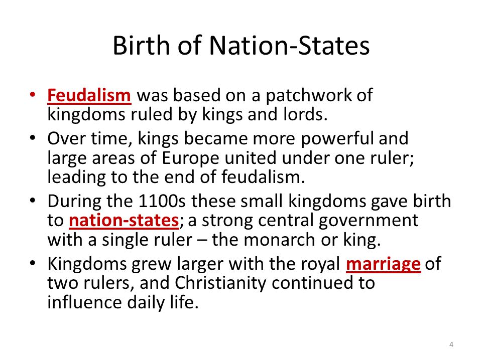 Birth of Nation-States