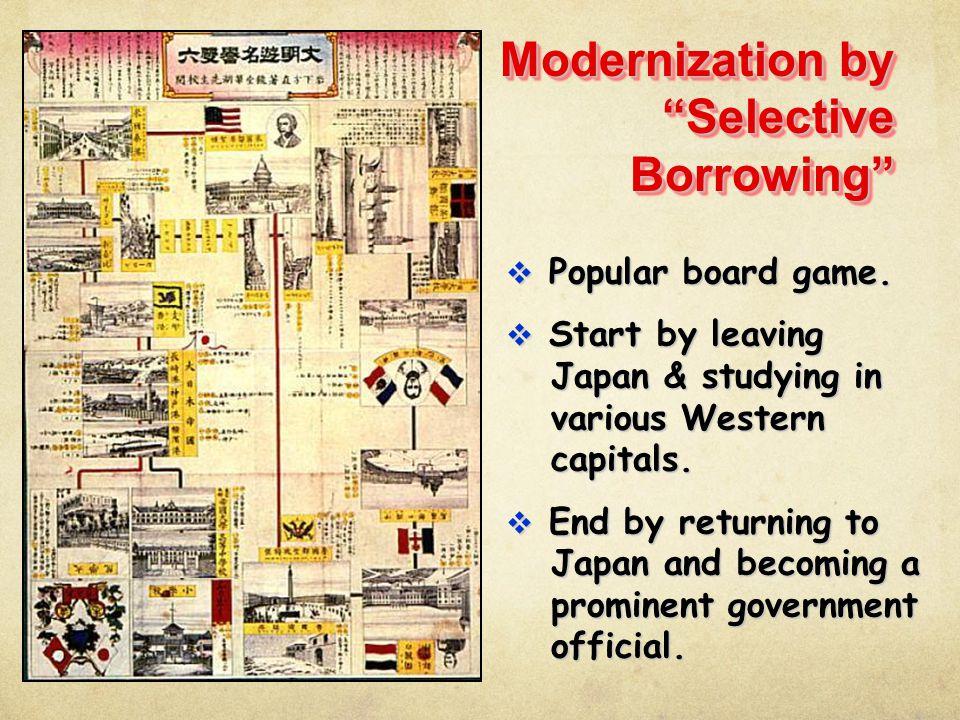 Modernization by Selective Borrowing