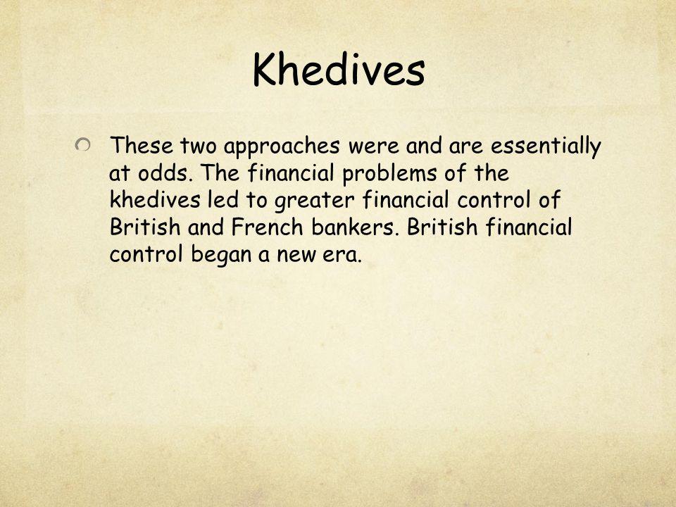 Khedives