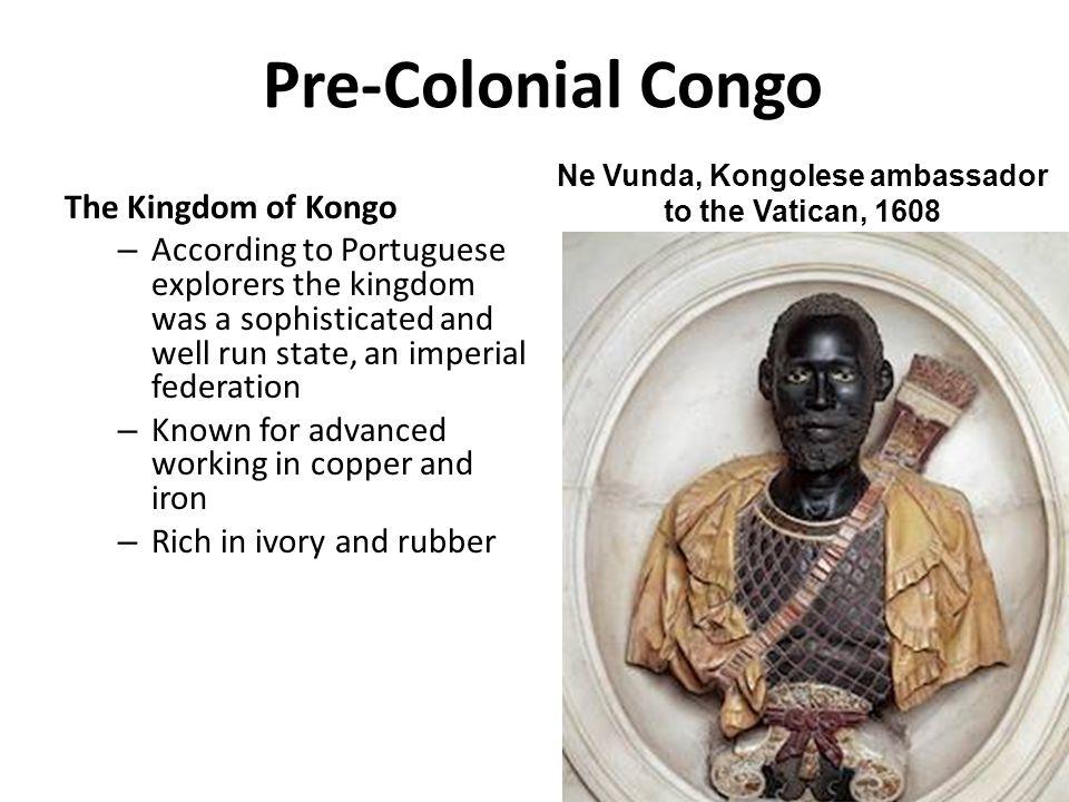 Ne Vunda, Kongolese ambassador to the Vatican, 1608