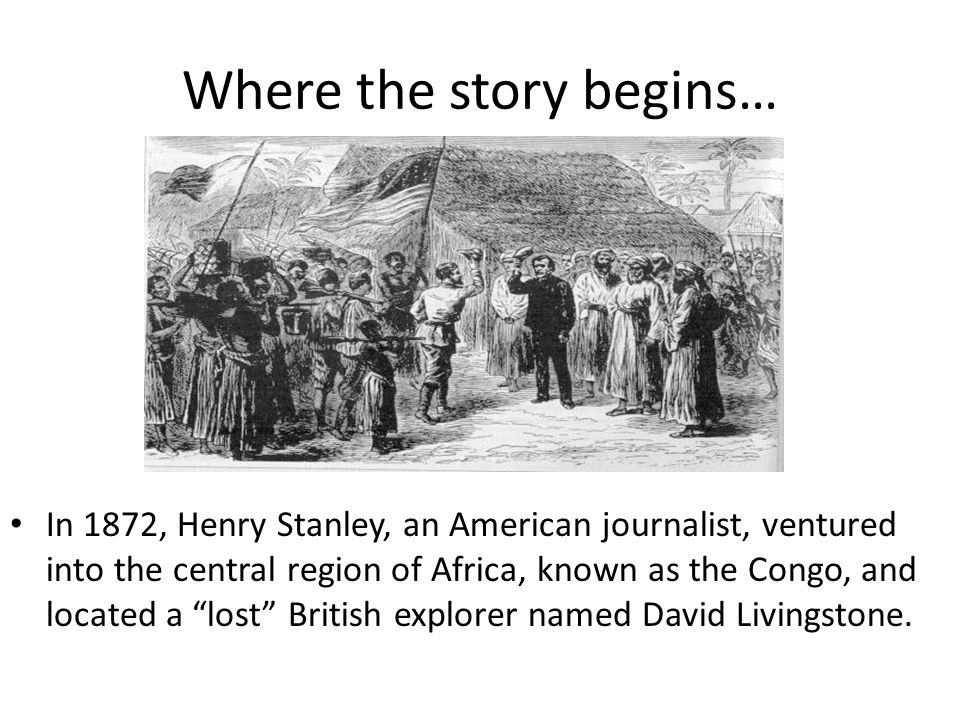 Where the story begins…