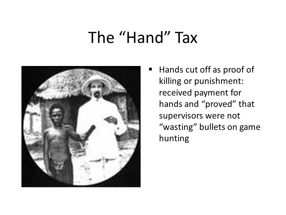 The Hand Tax