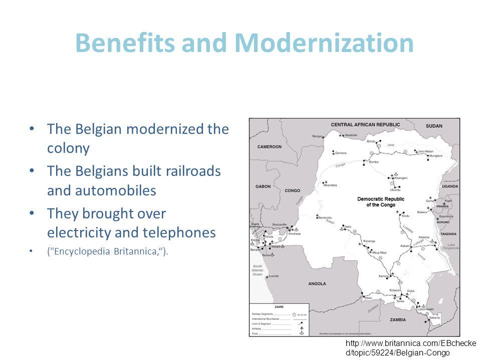 Benefits and Modernization
