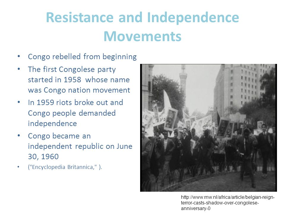 Resistance and Independence Movements