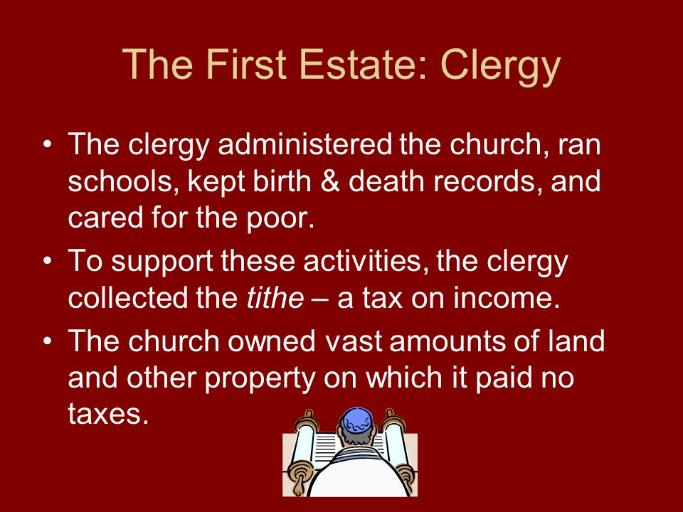 The First Estate: Clergy